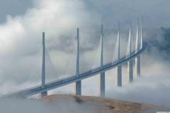 Viaduct Van Millau De Hoogste Brug Van Frankrijk